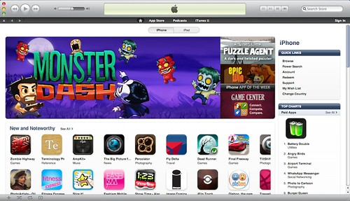 iTunes Store 10.0 Free US Account (3/6)