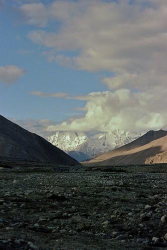 Sunrise over the Himalayas, Tibet