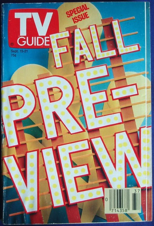 TV Guide 1990 Fall Preview