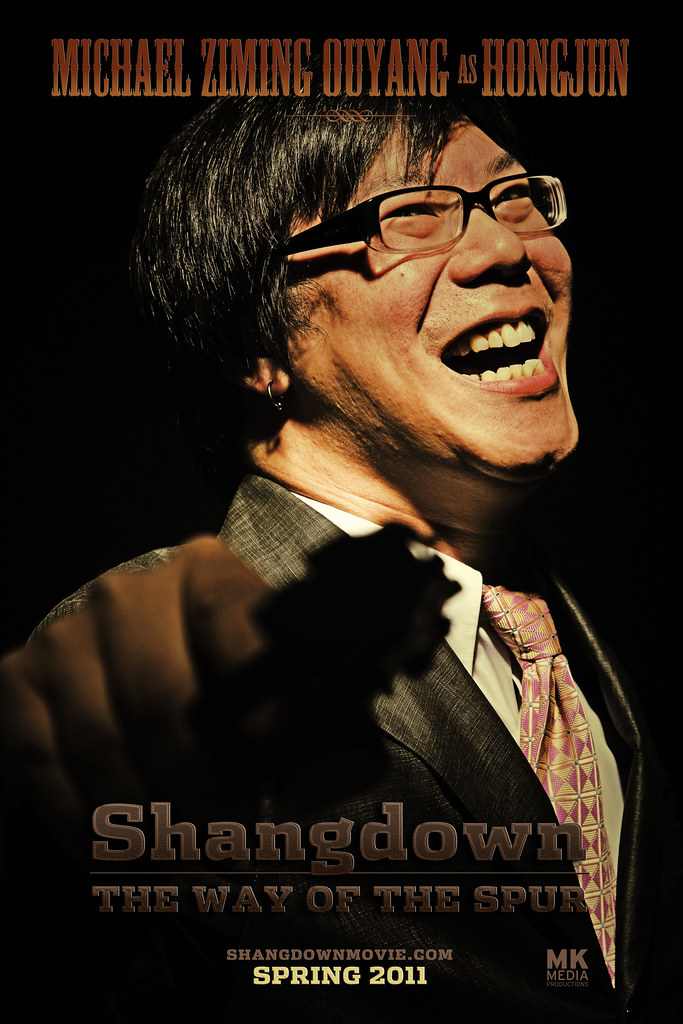 SHANGDOWN: THE WAY OF THE SPUR - Character Poster Hongjun