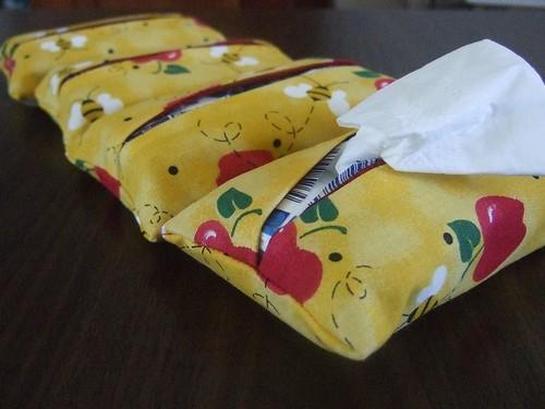 tissue pockets