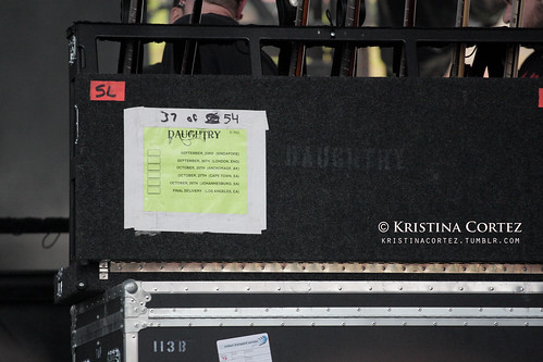 Daughtry's Guitar Rack