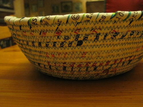 Selvage Bowl