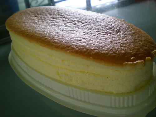 WeCare's Japanese baked cheesecake 1