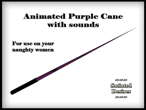 Thin Cane - Purple