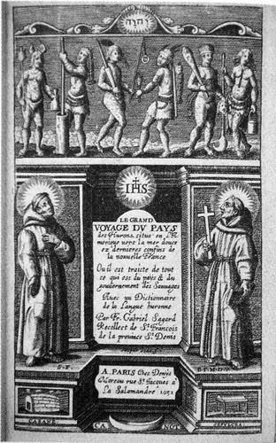Le Grand Voyage du Pays des Hurons, Gabriel Sagard (1632)