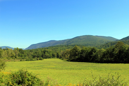 Vermont's green mountains