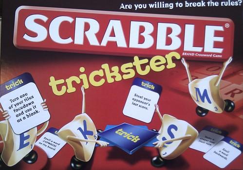 Scrabble Trickster - Boardgame Cover