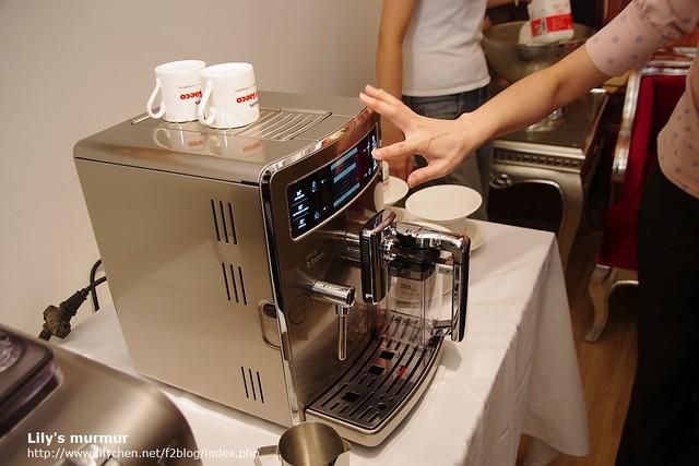 試用PHILIP Saeco義式頂級Xelsis咖啡機中...