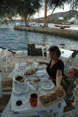 Naxos: Lecker Fisch essen