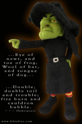 Felt Alive Witch