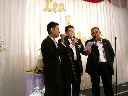 Leo's wedding 2 - The 3 Tenors
