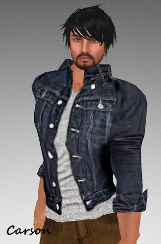 MHOH4 # 64 - Style Extrem and Upper Man Open Jean Coat