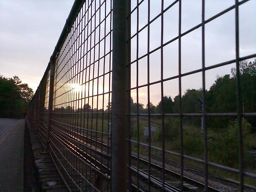 Railings on Station Road