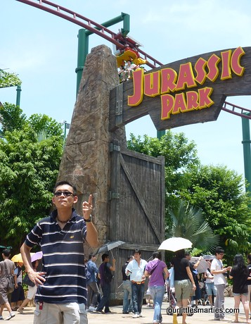 Jurassic Park with the Canopy flyer