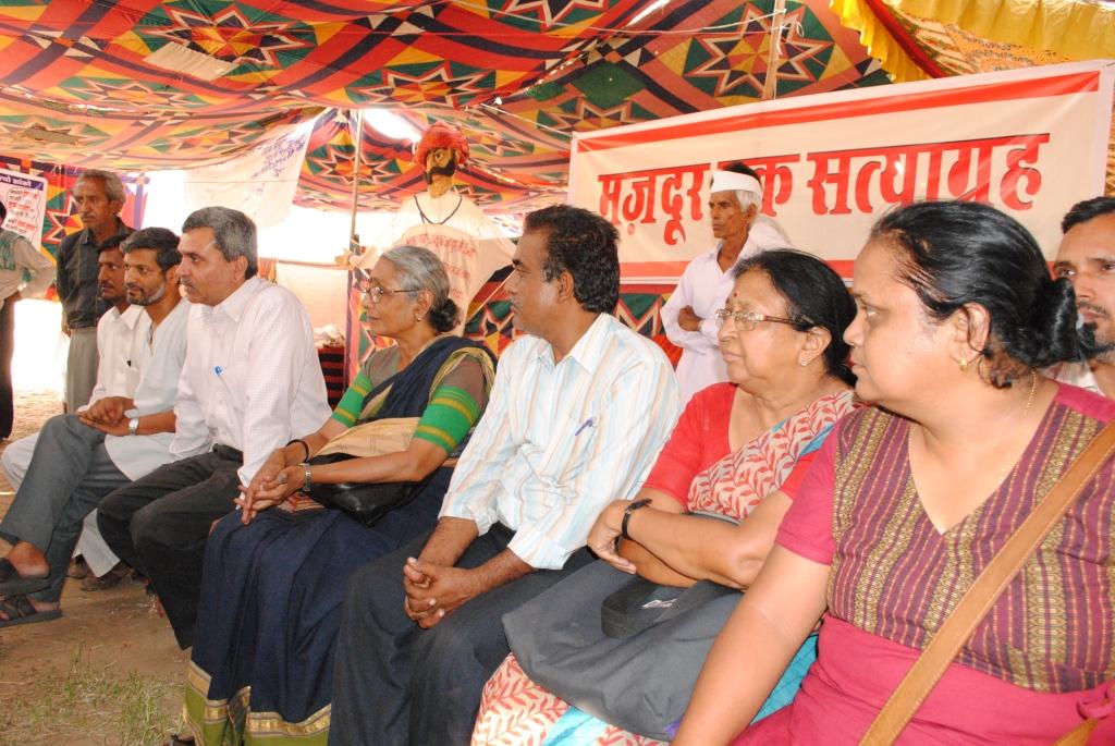 Pics from the satyagraha - 2 & 3 Oct 2010 - 6