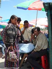 Oeffentliche Telefonzelle, Markt Solola
