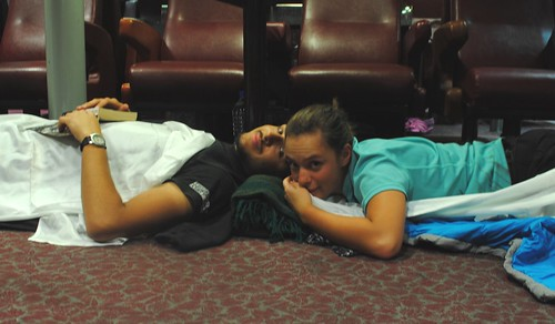 Ferry napping