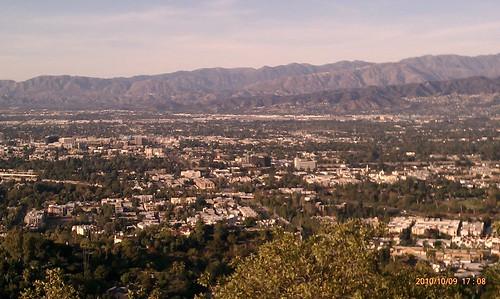 View toward Burbank