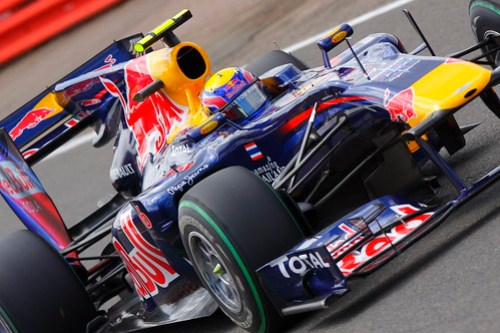 British GP - Mark Webber, Red Bull