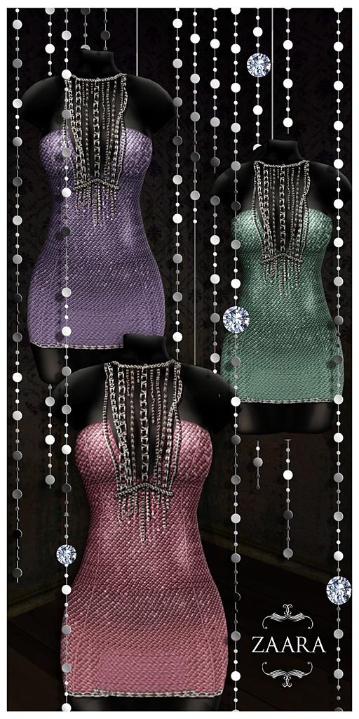 {Zaara} Acira minidress colors ad2