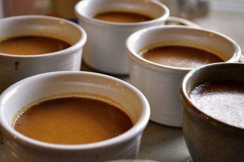 Pumpkin and Brown Sugar Creme Brulee