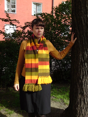 my maple scarf