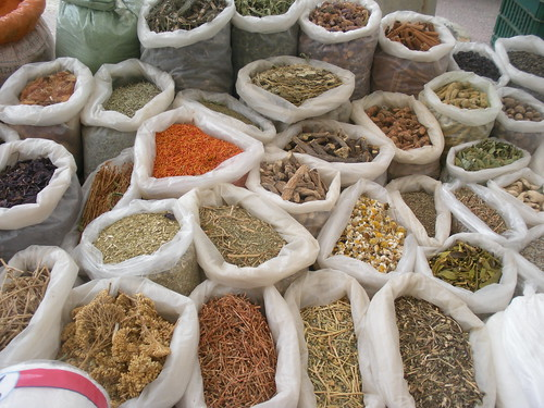 Abundant market produce in Malkara