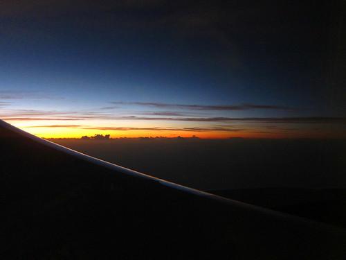 Sunset, 6:56 PM