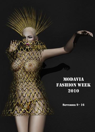 Modavia Fashion Week 2010 invitation