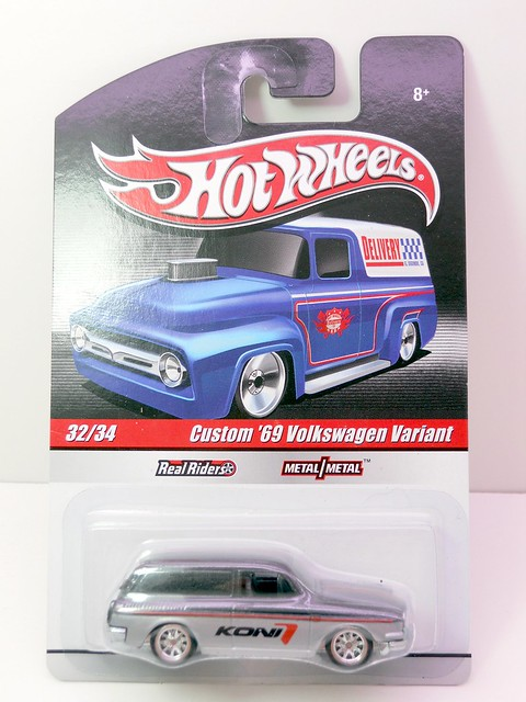 hot wheels delivery cutom '69 volkswagen variant (1)