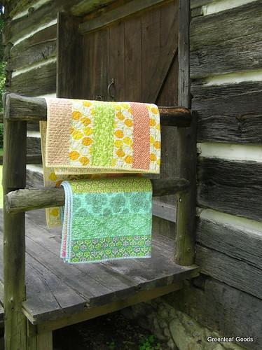 Striped Wedding Quilts