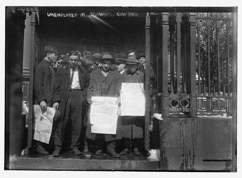 Unemployed in St. Mark's N.Y. (LOC)