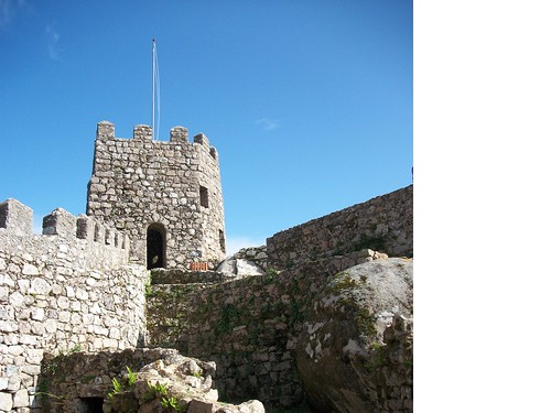 Moorish castle. Sintra Portugal