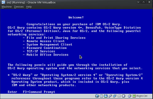 OS/2 install boot disk