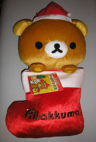 Rilakkuma stocking