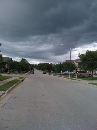summer storm in tx