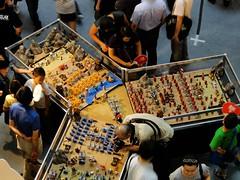 GUNDAM EXPO 2010 會場中央的展示