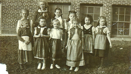 School Girls in Costume