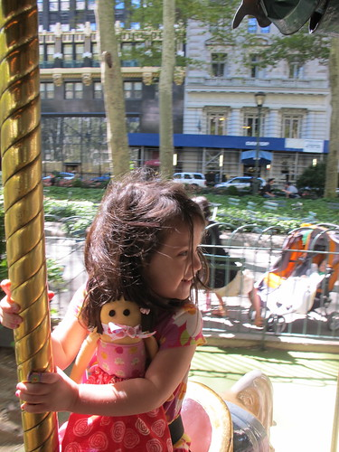 Penny on the Carousel