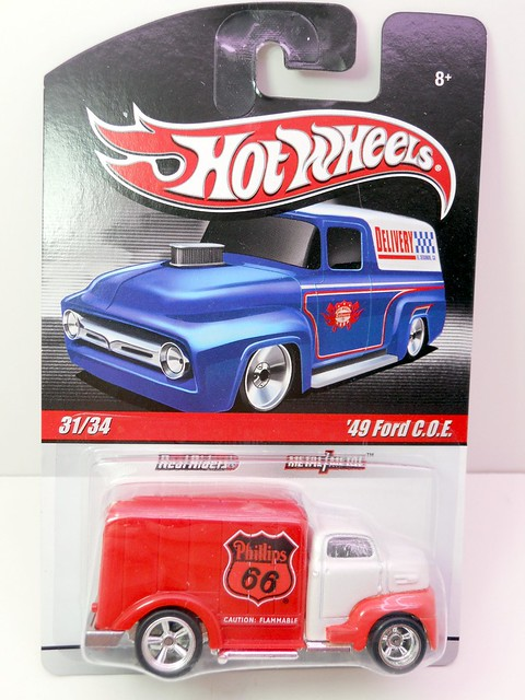 Hot Wheels delivery '49 phillips 66 ford COE (1)