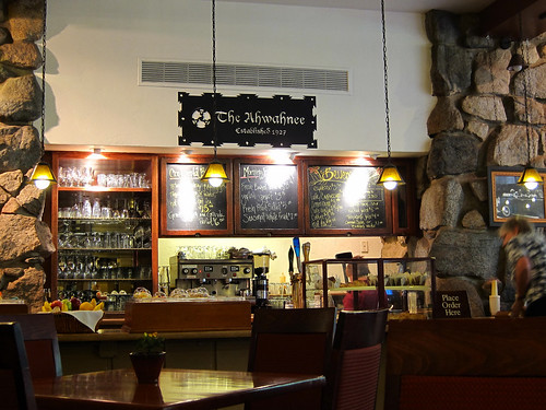 Bar, The Ahwahnee Hotel