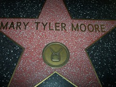 Mary Tyler Moore on the Walk of Fame