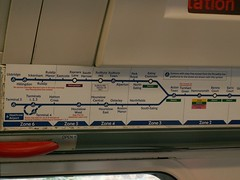Inside Tube Picadilly Line 1