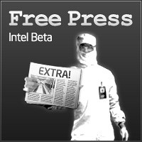 Intel Free Press -- Beta Logo