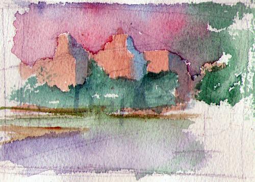 utrecht-Frankinpark-study2  Sunset