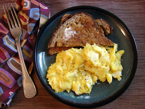 Monday brunch at home