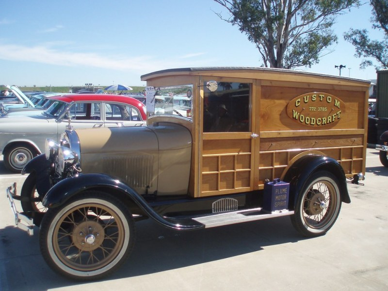 1963 pontiac cars » Blog Post   The Knotty History of the Woody Wagon   Car Talk 1929 Ford Model A panel van by sv1ambo  on Flickr