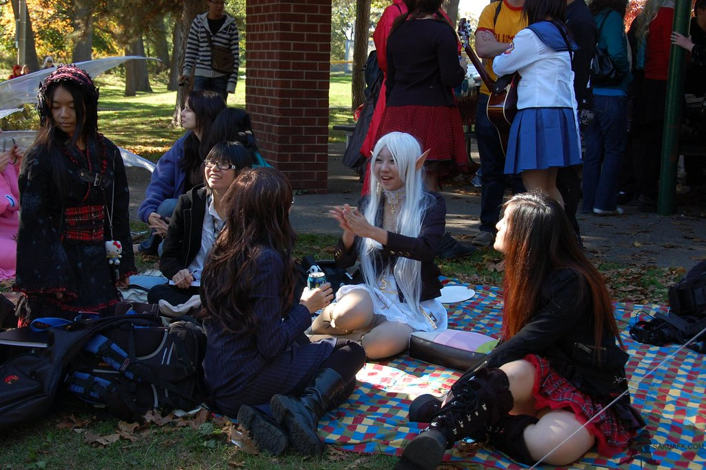 cosplay picnic high park 39