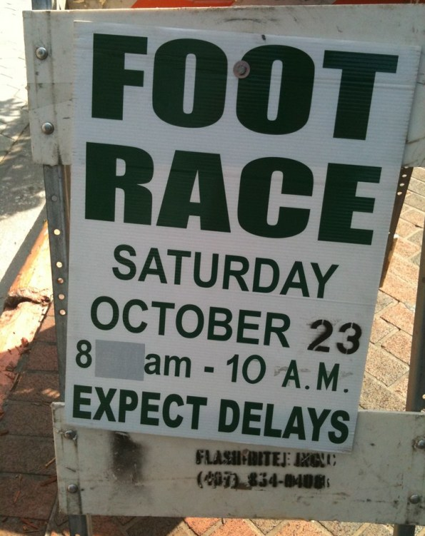 Downtown Orlando Foot Race 10/23